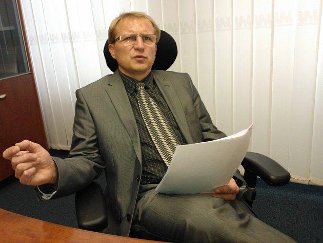 Náměstek primátora Pavel Boček.
