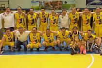 Basketbalisté Slunety B vybojovali v Severočeské lize už desátý titul.