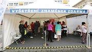 Akce Spolu proti melanomu v Ústí nad Labem.