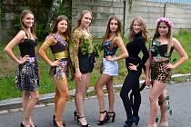 Dívky ze severu Čech, které postoupily do finále republikového klání Dívka talent 2019