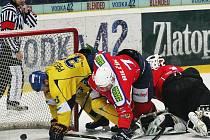 4:3 v prodloužení vyhráli hokejisté Ústeckých Lvů s Třebíčí!