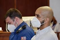 Vojtěch Bady u krajského soudu v Ústí 12. března