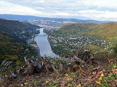 Ústí nad Labem jako na dlani.
