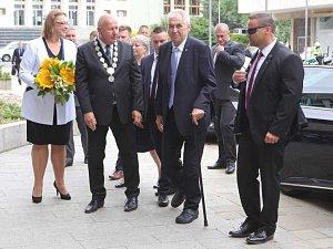 Návštěva Miloše Zemana v Ústeckém kraji - červen 2018