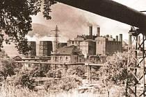 Teplárna (elektrárna) Trmice v roce 1927.