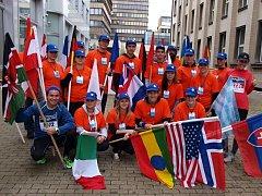 Dobrovolníci na Ústeckém půlmaratonu.