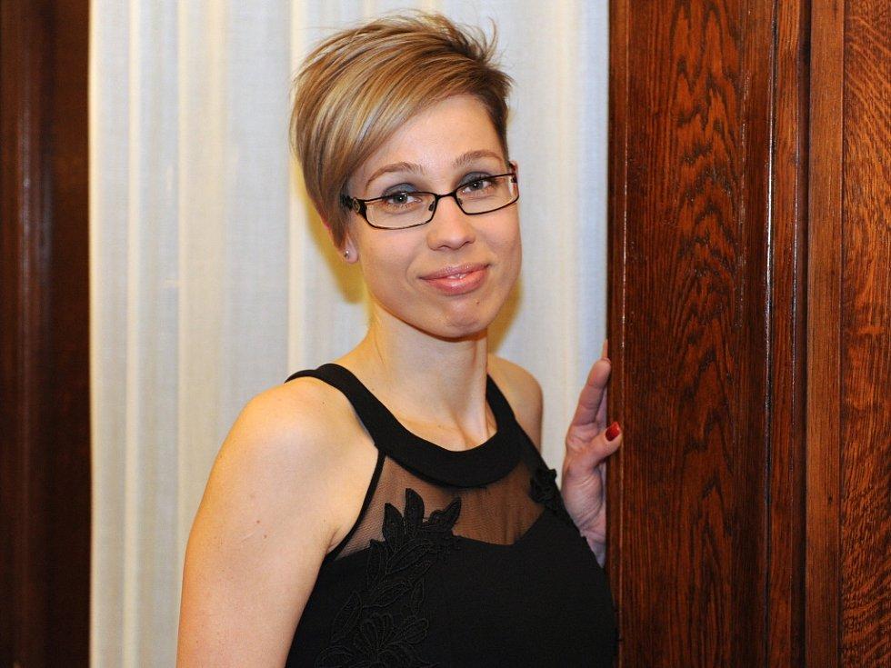 Ze 44 dárců kostní dřeně byla oceněna také Lenka Chmelařová, sestra na dětské neurologii na poliklinice v Ústí nad Labem.