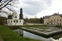 Vodní hrad Rodewisch.