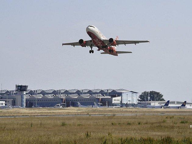 Letiště Drážďany.