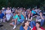 Koncert Michala Davida v ústeckém Letním kině.