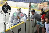 Ústečtí hokejisté zahájili přípravu na ledě.