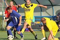 Fotbal v Mojžíři. Ilustrační foto.