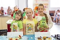 Celostátního finále kuchařské soutěže Zdravé 5 se v loňském roce zúčastnil také tým Hastrmanky ze ZŠ Stříbrnická v Ústí nad Labem.