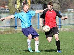 Fotbal Velké Březno. Ilustrační foto.