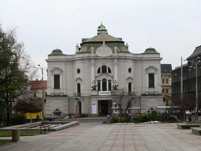 Severočeské divadlo opery a baletu.