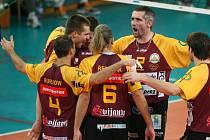 Libereckým volejbalistům se daří v lize i evropském poháru.