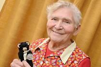 Bedřiška Kulhavá v roce 1960 reprezentovala Ústí nad Labem na OH v Římě společně s boxerem Bohumilem Němečkem.