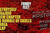 Na sobotu 19. září se v Koštově chystá Fondyfest.