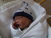 Zdeněk Kocourek se narodilv ústecké porodnici 7.3. 2017 (10.30) Viole Novákové. Měřil 51 cm, vážil 3,3 kg.
