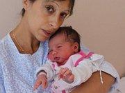 Sofie Redlichová se narodila 13.9. (9.52) Janě Redlichové. Měřila 51 cm, vážila 3,65 kg.