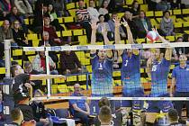 Volejbalisté Ústí podlehli 0:3 Českým Budějovicím.