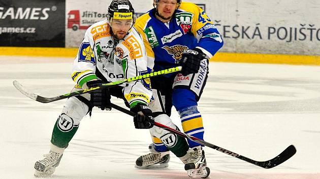 Druhé hokejové utkání mezi Ústí a Mladou Boleslaví.