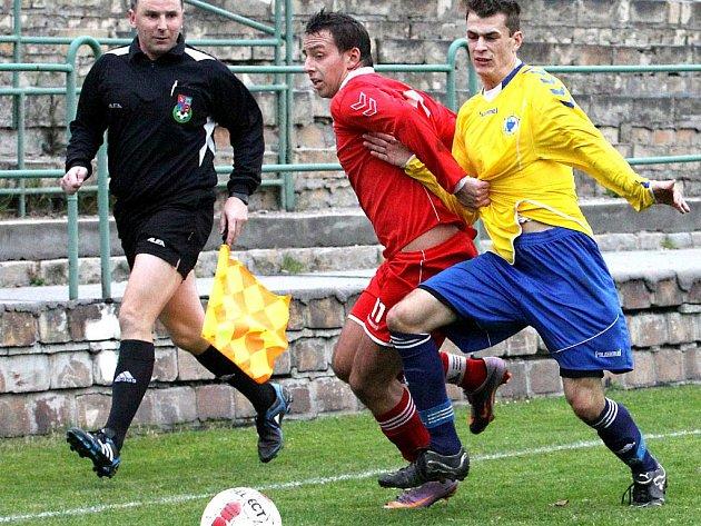 Fotbalisté Neštěmic zakončili podzimní část krajského přeboru na 11. místě tabulky.
