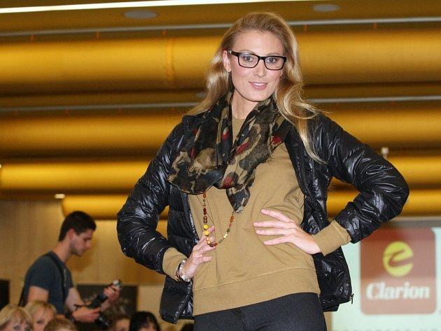 Modelky představily v Clarion Congress Hotelu módní kolekce na nadcházející sezónu.