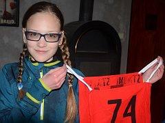 Sabina Hrušková sní o účasti na mistrovství republiky.