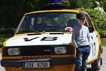 Závod autoveteránů O pohár hraběte Chotka.