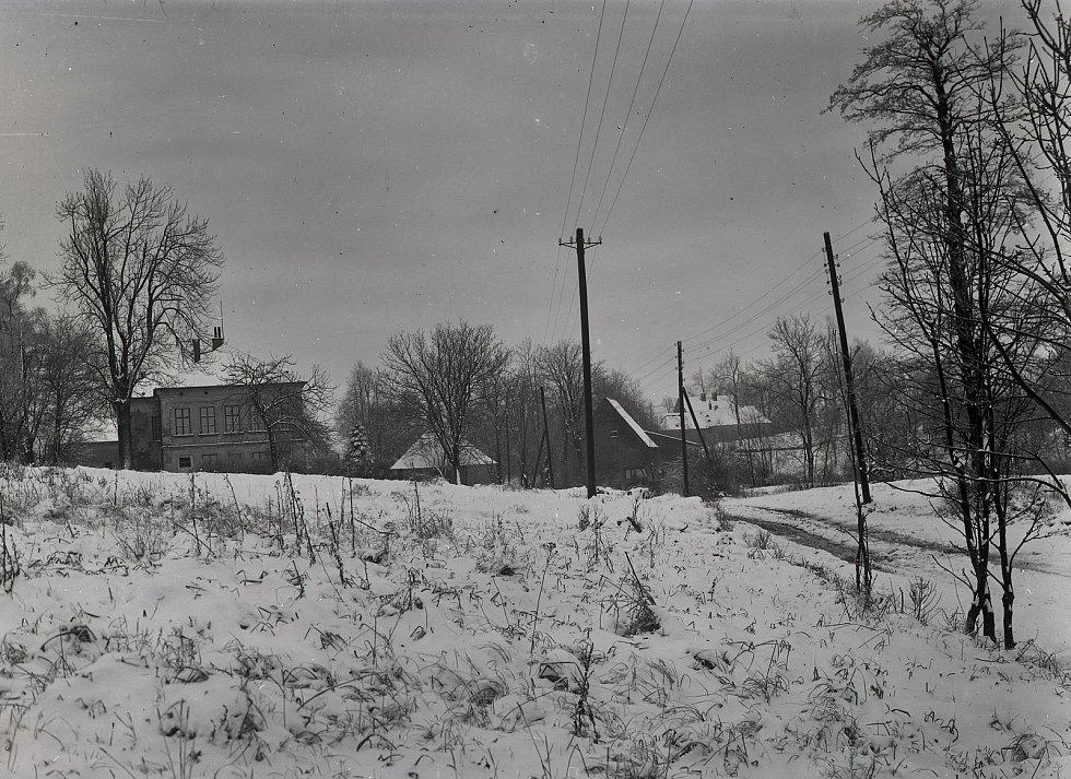 Zima v Krásném Lese