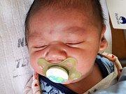 Miroslav Luboš Koloman Demeter se narodil v teplické porodnici 6.10.2016 (12.40)  Taťaně Demeterové. Měřil 51 cm a vážil 3,85 kg.
