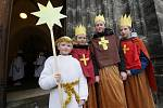 Žehnání koledníkům Tříkrálové sbírky v Ústí nad Labem
