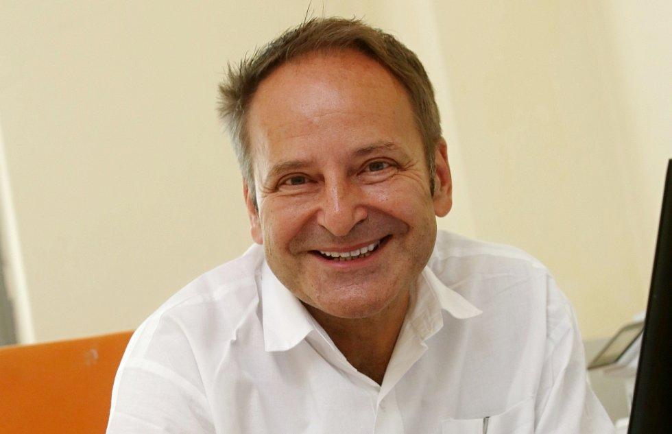 Pavel Dlouhý, primář infekčního oddělení Masarykovy nemocnice v Ústí nad Labem