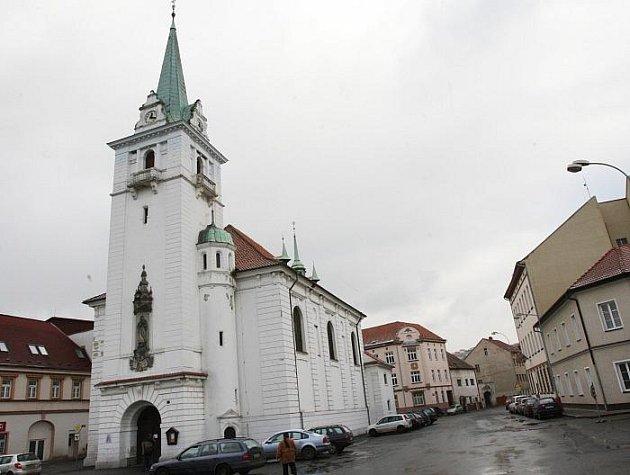 Trmický kostel Narození Panny Marie.
