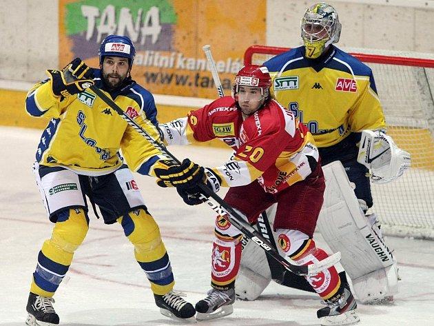 Ústečtí hokejisté se ve středu představí na ledě Písku.