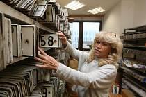 Likvidace registračních značek na oddělení registru vozidel Magistrátu města Ústí n. L.