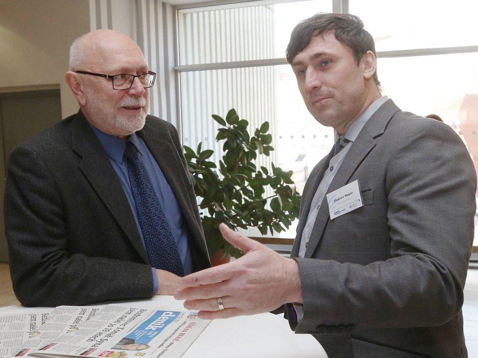 Setkání s hejtmanem Oldřichem Bubeníčkem.