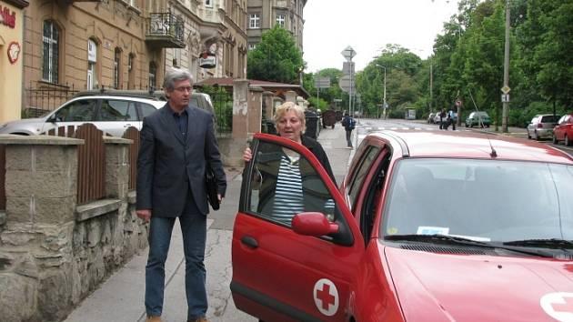 Milan Měkota a Nevena Černohorská.