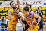 Basketbalové derby Sluneta Ústí nad Labem - Armex Děčín.