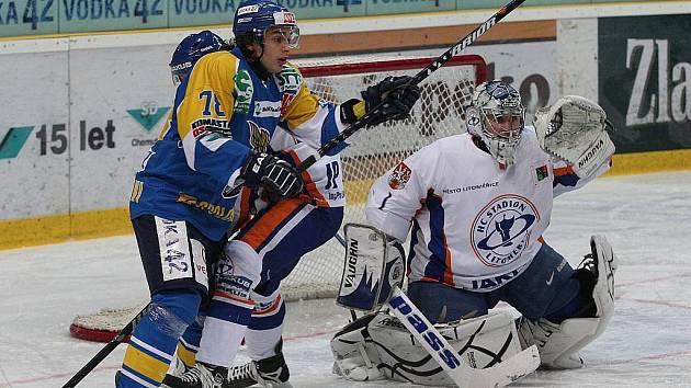 Po domácí výhře nad Litoměřicemi zvládli ústečtí hokejisté i další derby, když vyhráli v Kadani 1:0 / ilustrační foto