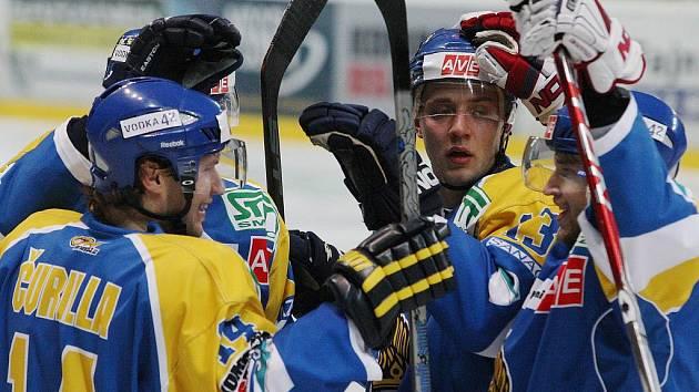 Ústečtí hokejisté chtějí doma zvítězit.