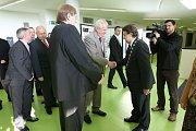Prezident Miloš Zeman se setkal s vedením a studenty ústecké univerzity.
