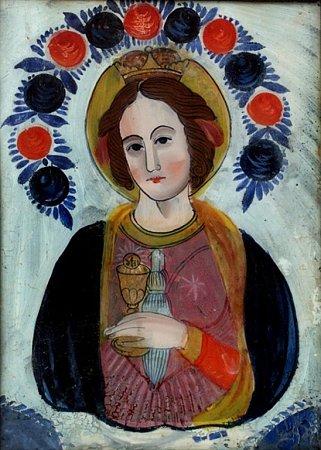 Svatá Barbora.