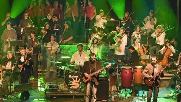 The Boom & Orchestra v Domě kultury Ústí.