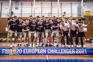 TRIUMF. Česká basketbalová reprezentace do 20 let mohla slavit.