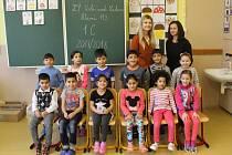 1. C, ZŠ Hlavní, Mojžíř, třídní učitelka Veronika Výskalová, třídní asistentka Jana Stoupová.