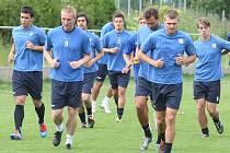 Ústečtí fotbalisté mají za sebou první týden letního drilu. V sobotu je v Plzni čekají první přátelské zápasy.