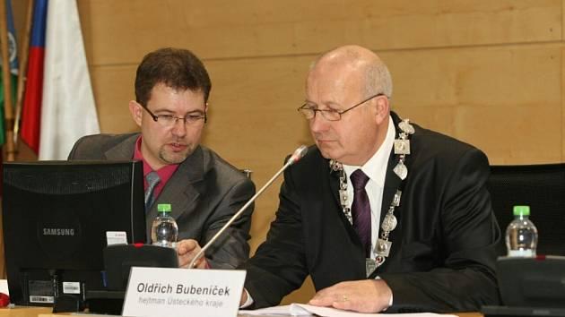 Hejtmanem Ústeckého kraje se stal Oldřich Bubeníček (KSČM).