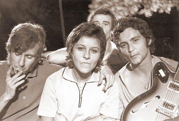 The Strangers točila na Slapech vr. 1971Československá televize.